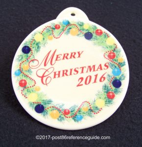 2016 Christmas Tree Fiesta® Ornament