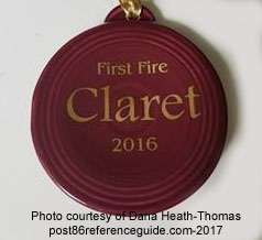 First Fire 2016 Claret Fiesta® Ornament