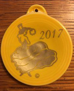 Dancing Lady 2017 Fiesta® Ornament