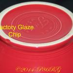 Factory Glaze Chip