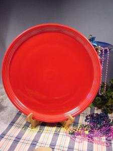 Fiesta® 15 inch Pizza Tray in Scarlet