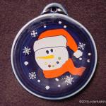 2004 Button Snowman Fiesta® Ornament