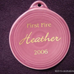2006 First Fire Heather Fiesta® Ornament