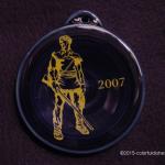 2007 Cobalt Mountaineer Fiesta® Ornament