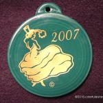 2007 Evergreen Dancing Lady Fiesta® Ornament