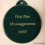 2007 First Fire Evergreen Fiesta® Ornament