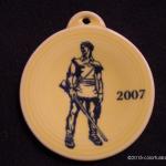 2007 Sunflower Mountaineer Fiesta® Ornament
