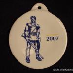 2007 White Mountaineer Fiesta® Ornament
