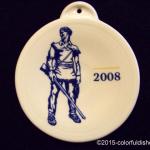 2008 White Mountaineer Fiesta® Ornament