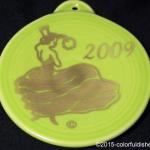 2009 Dancing Lady on Lemongrass Fiesta® Ornament
