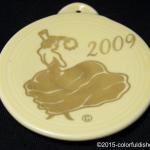 2009 Dancing Lady on Ivory Fiesta® Ornament