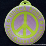 2009 HLCCA Conference Exclusive Peace-Love-Dishes Fiesta® Ornament