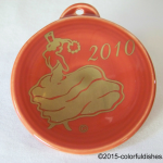2010 Paprika Dancing Lady Fiesta® Ornament