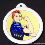 2010 HLCCA Conference Exclusive - Rosie the Riveter Fiesta® Ornament