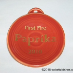 2010 Paprika First Fire Fiesta® Ornament