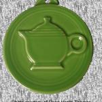 2012 HLCCA Embossed Teapot Shamrock Fiesta® Ornament