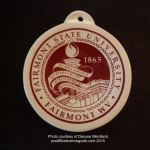 2012 Fairmont State University Fiesta® Ornament