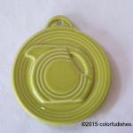 2013 HLCCA Embossed Pitcher Lemongrass Fiesta® Ornament