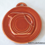 2014 HLCCA Embossed Pitcher Paprika Fiesta® Ornament
