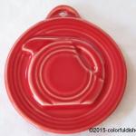 2014 HLCCA Embossed Pitcher Scarlet Fiesta® Ornament