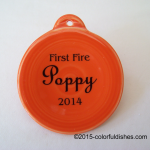 2014 First Fire Poppy Fiesta® Ornament