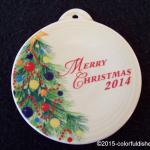 2014 Merry Christmas Fiesta® Ornament