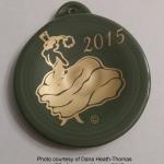 Fiesta® 2015 Sage Dancing Lady Ornament
