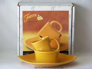 Fiesta® 3 Piece Square Place Setting