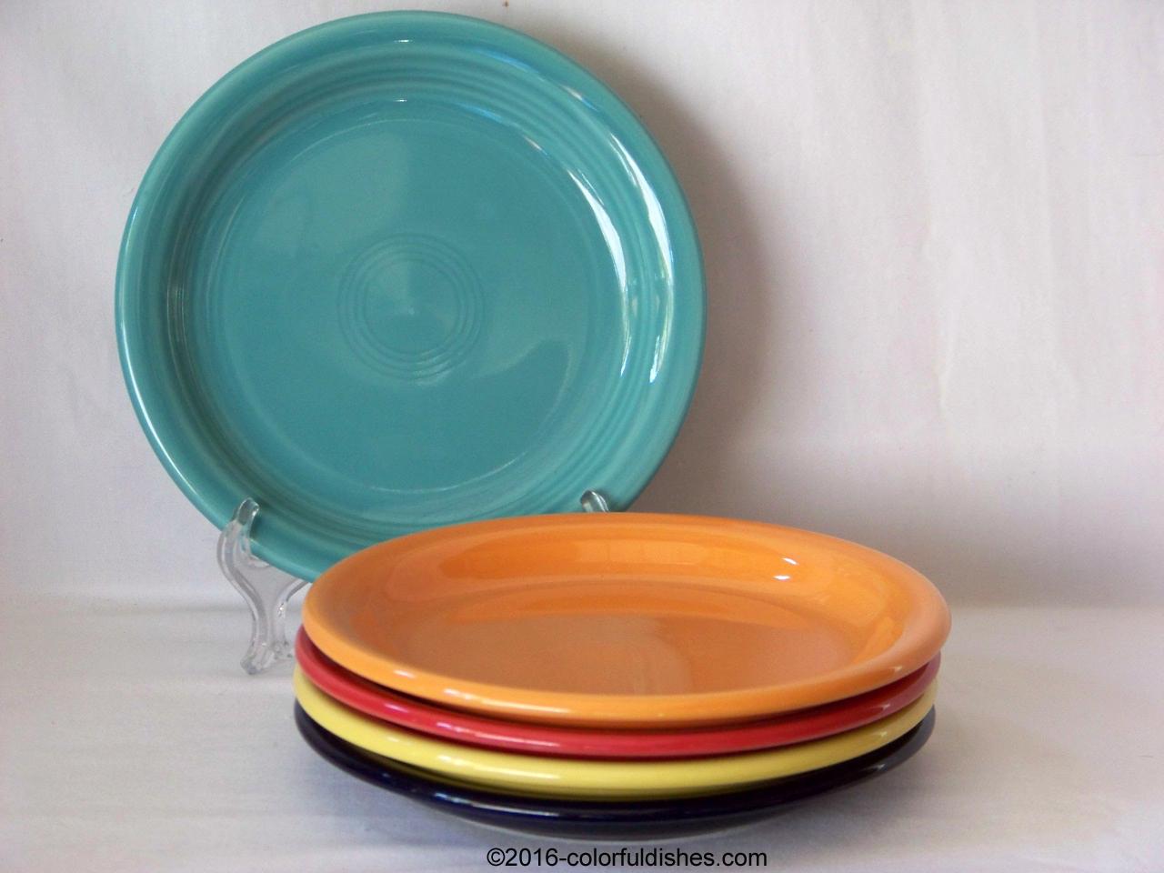 Fiesta® Appetizer Plate & Fiesta® Plates