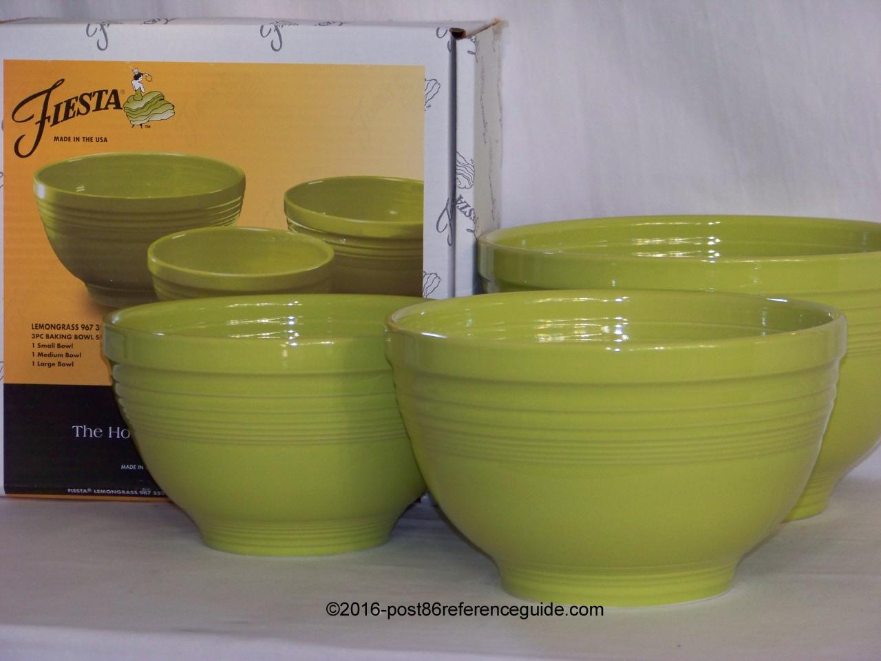 Fiesta® Bowls