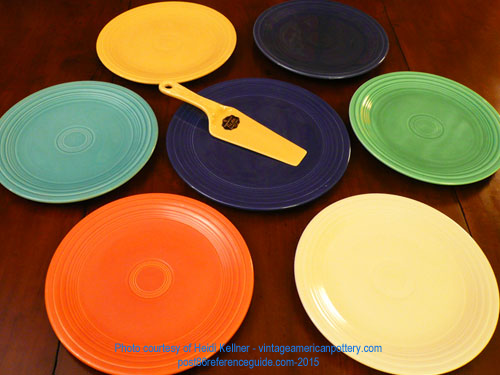 Fiesta® Cake Plate & Comparison - Plates - Platters - Trays - Post 86 Reference Guide