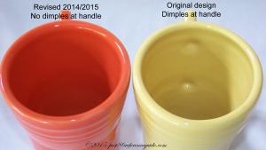 Fiesta® Cappuccino Mug Comparison