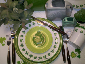 Fiesta Carsons St Patricks Plate rg
