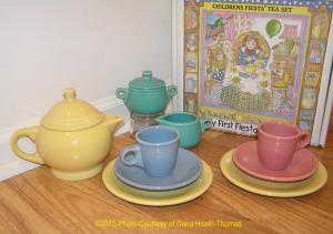 Fiesta® Childs Tea Set -Yellow Dana Heath Thomas