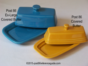 Fiesta® Covered Butter Comparison