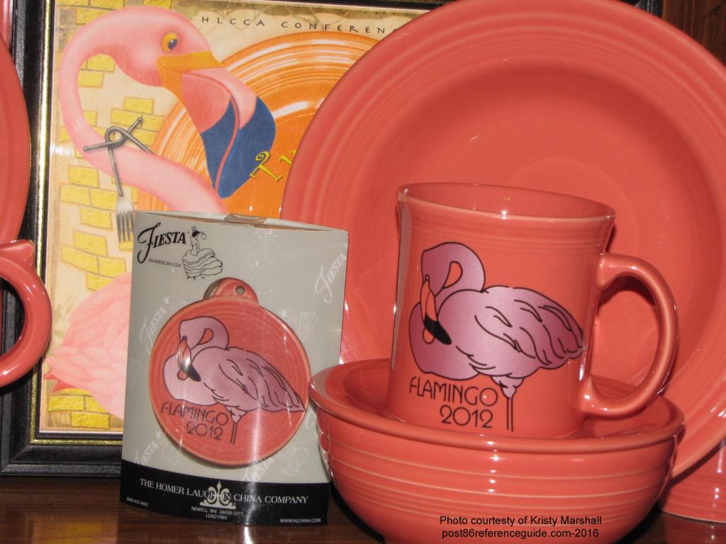 Fiesta® Flamingo 2012 Mug Ornament