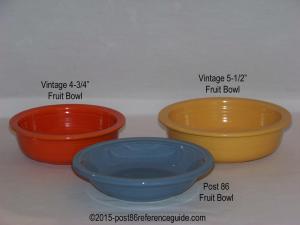 Fiesta® Fruit Bowls Comparison