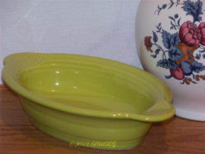 Fiesta® Individual Oval Casserole in Lemongrass