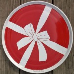 Fiesta® Red Bow Pizza Tra