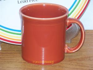 Fiesta® Java Mug in Paprika