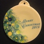 2015 Merry Christmas Fiesta® Ornament