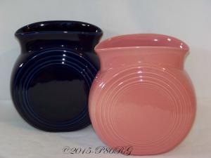 Fiesta® Millennium II Vases in Cobalt & Rose