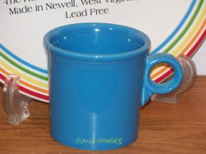 Fiesta® Ring Handled Mug in Peacock