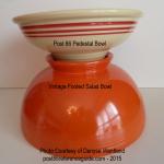 Fiesta® Pedestal Bowl - Vintage Footed Salad Bases