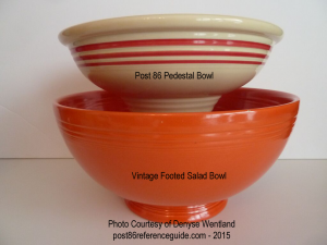Fiesta® Pedestal Bowl - Vintage Footed Salad