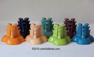 Fiesta® Pyramid candleholders