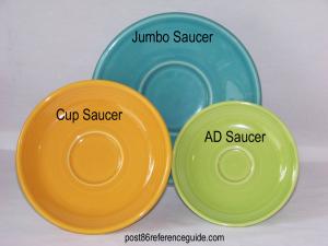 Fiesta® Saucers Comparisons