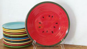 Fiesta® Scarlet Watermelon Luncheon