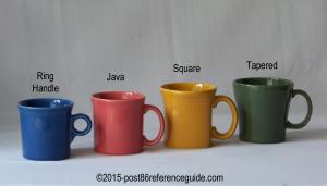 Fiesta® Mug Comparison
