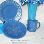 Fiesta® Snowflake Lapis Set